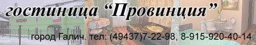 Гостинница в Галиче Провинция